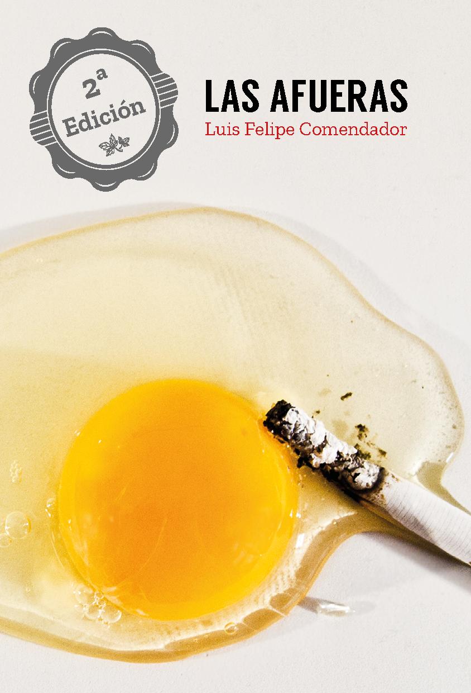 Las afueras, Luis Felipe Comendador, A Fortiori Editorial